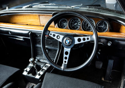 1972 BMW 3.0 CSL Coupé tableau de bord - Goodwood Bonhams 2019