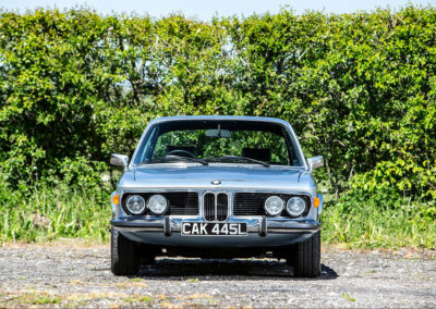 1972 BMW 3.0 CSL Coupé vue avant - Goodwood Bonhams 2019