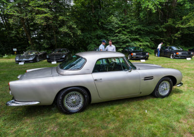 Concours d'Elégance Suisse Château de Coppet - Aston Martin