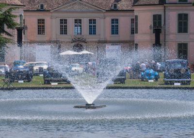 Concours d'Elégance Suisse Château de Coppet - Fontaine centrale