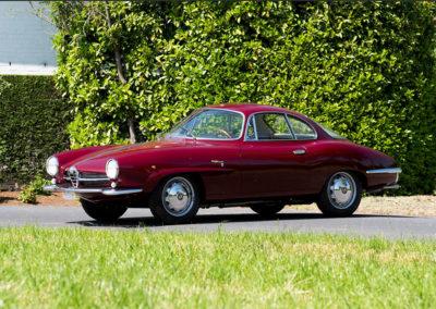 1961 Alfa Romeo Giulietta SS Coupé