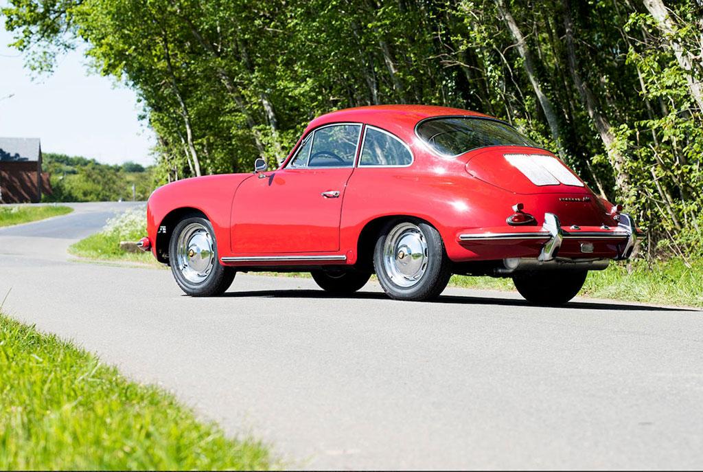 1962 Porsche 356B T6 Super 90 Coupé Karmann