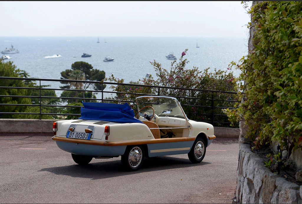 1965 FIAT 500 Élégance Beach Car