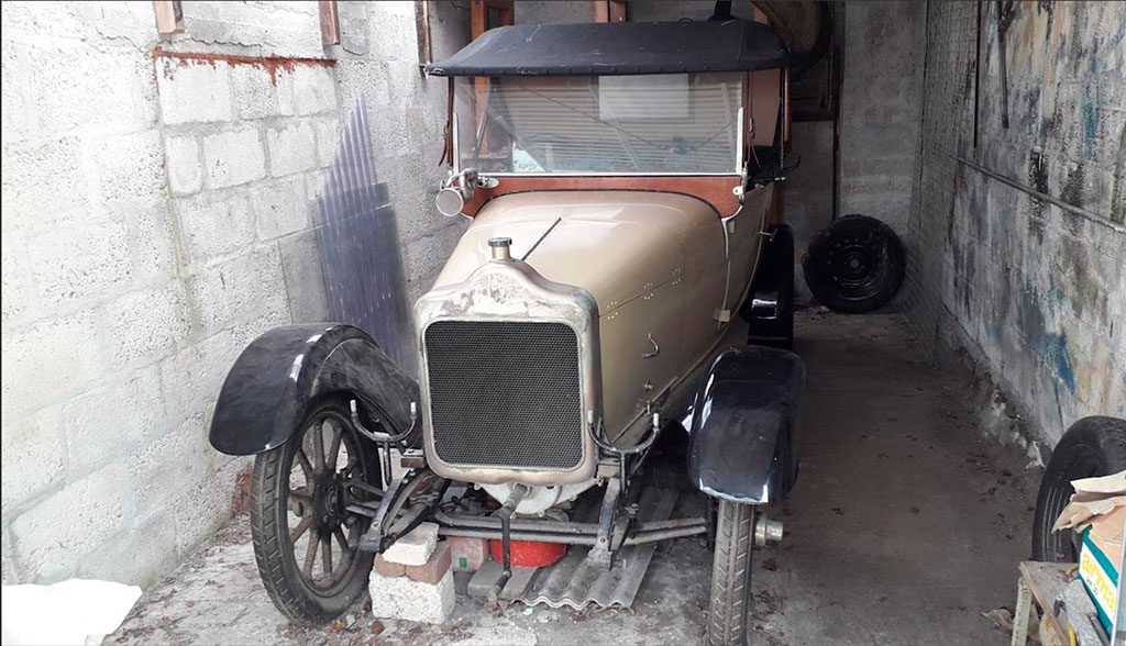 1921 Calcott 119hp Two seater.