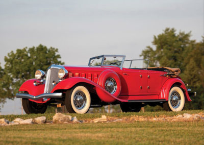 1933 Chrysler CL Imperial Dual Windshield Phaeton by LeBaron - $ 225 000-$ 275 000