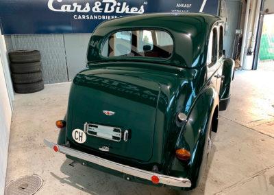 1947 Morris Eight vue arrière
