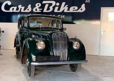 1947 Morris Eight vue face avant