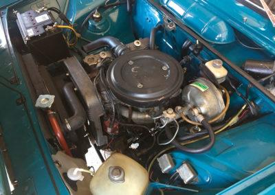 1969 Fiat 125 vue moteur