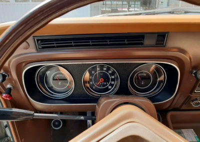 1971 Ford Taunus vue tableau de bord