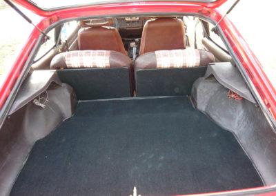 1980 Ford Capri vue coffre arrière