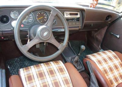 1980 Ford Capri vue tableau de bord