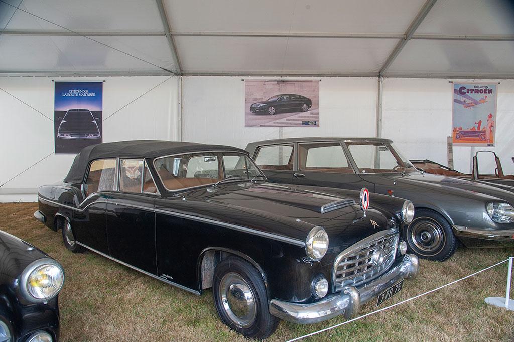 Citroën véhicules présidentiels