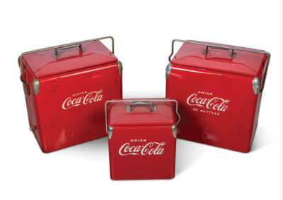 Coca-Cola Coolers - $ 400-$ 600