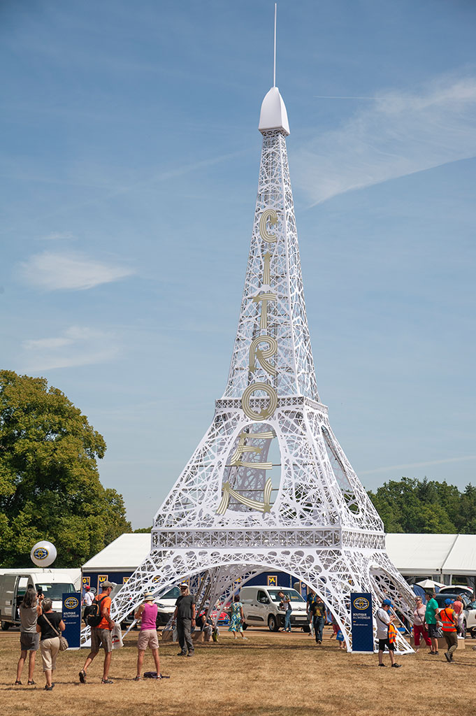 Tour Eiffel et 100 ans de Citroën