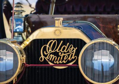 1908 Oldsmobile Limited Prototype le logo de l'époque - Hershey Auction.