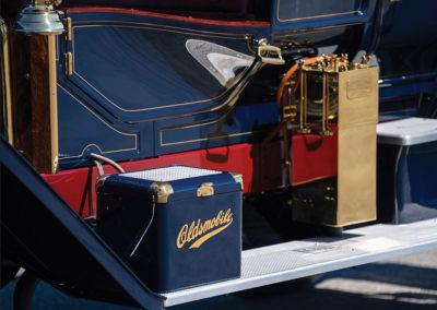 1908 Oldsmobile Limited Prototype les détails qui font le charme - Hershey Auction.