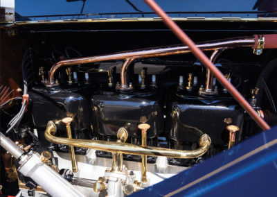 1908 Oldsmobile Limited Prototype moteur 6 cylindres - Hershey Auction.