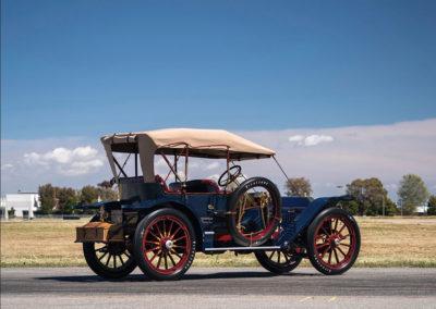 1908 Oldsmobile Limited Prototype vue trois quarts arrière droit - Hershey Auction.