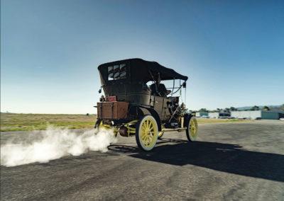 1908 Stanley Model M Five-Passenger Touring et non je ne pollue pas - Hershey Auction.