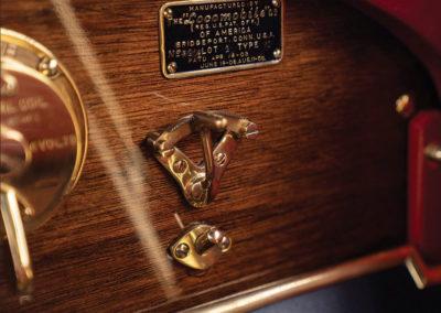 1912 Locomobile Model 48 M Five-Passenger Torpedo ces détails qui n'existent plus - Hershey Auction.