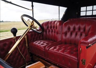 1912 Locomobile Model 48 M Five-Passenger Torpedo invitation à monter à bord - Hershey Auction.