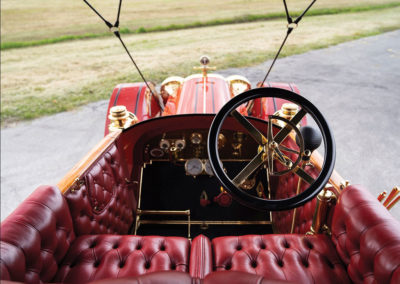 1912 Locomobile Model 48 M Five-Passenger Torpedo prêt pour un long voyage - Hershey Auction.