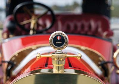 1912 Locomobile Model 48 M Five-Passenger Torpedo thermomètre de température d'eau - Hershey Auction.