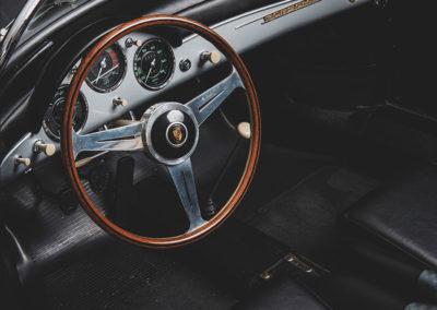 1957 Porsche 356 A Carrera GT Speedster Reutter tableau de bord - Taj Ma Garaj.
