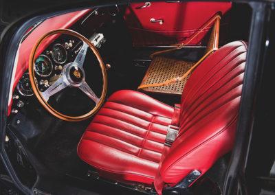 1958 Porsche 356 A Sedan Delivery Kreuzer vue siège conducteur -Taj Ma Garaj.