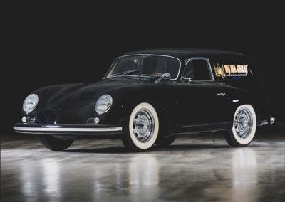 1958 Porsche 356 A Sedan Delivery Kreuzer vue trois quarts avant gauche - Taj Ma Garaj.