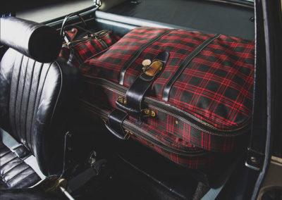 1967 Porsche 911 S Coupe l'espace arrière sert à y placer les bagages - Taj Ma Garaj.