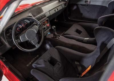 1981 Porsche 924 Carrera GTS Clubsport intérieur sportif- Taj Ma Garaj.