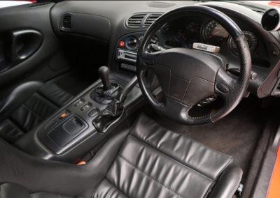 1995 Mazda RX-7 SP Coupé vue intérieure.