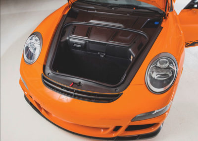 2007 Porsche 911 GT3 RS mais où vais-je mettre mes bagages ? - Taj Ma Garaj.