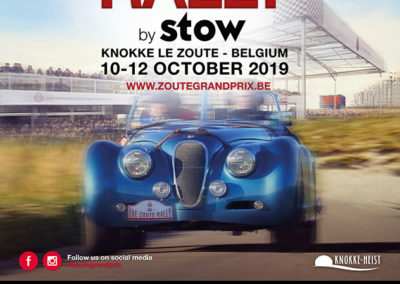 2019 Zoute Grand Prix Rally by Stow.