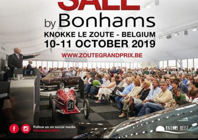 2019 Zoute Grand Prix Zoute Sale by Bonhams.