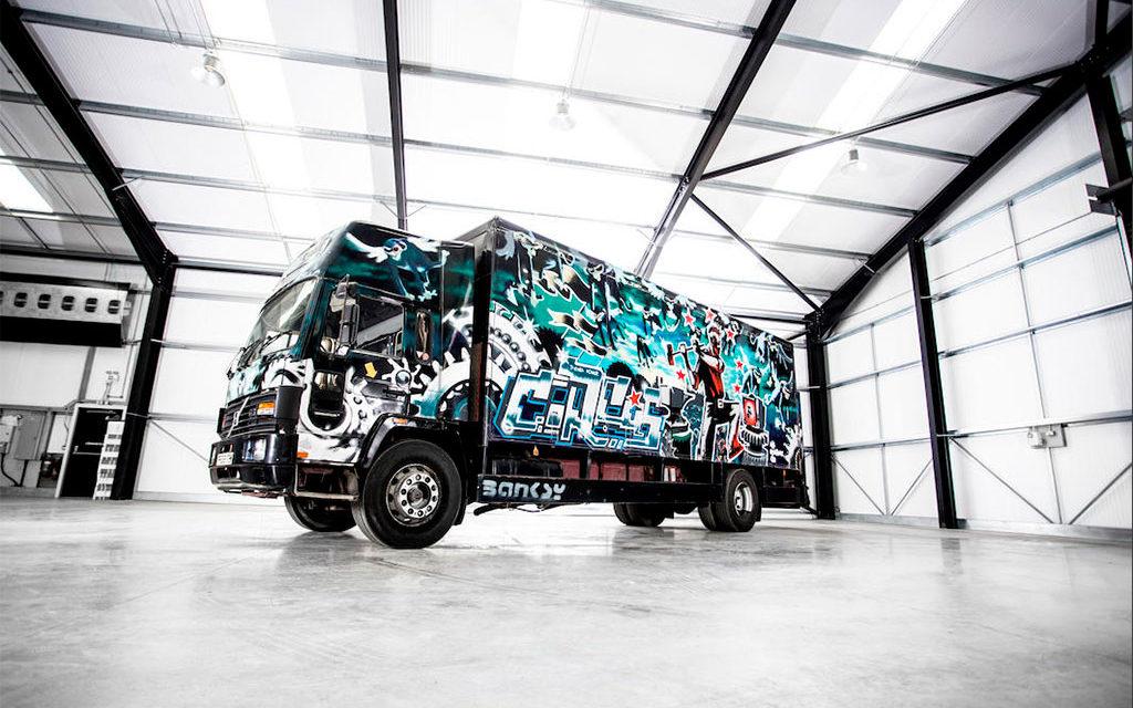 Banksy, ou comment concilier street art et passion automobile