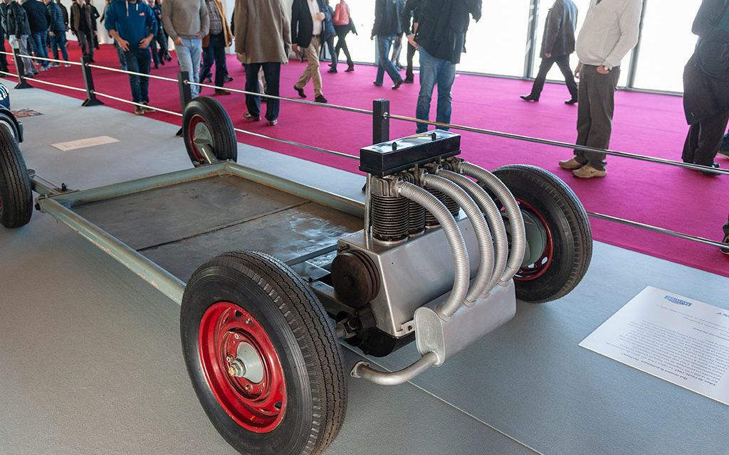 Hervé Charbonneaux raconte le châssis de voiture Dechaux