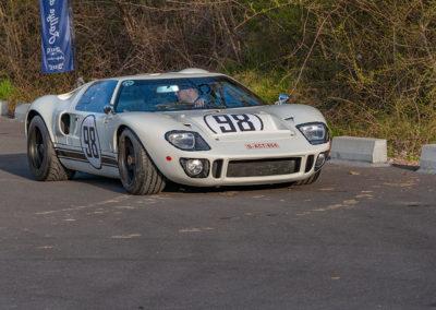 Ford GT 40 au circuit de Folembray