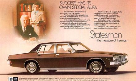 Statesman | La grande berline luxueuse de la marque australienne Holden