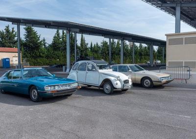 100 ans de Citroën, SM et 2 CV