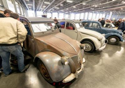 100 ans de Citroën en compagnie de 2CV à Historic Auto.