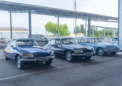 100 ans de Citroën, le coin des DS