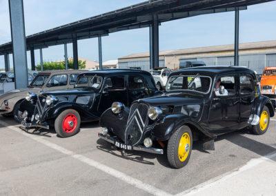 100 ans de Citroën, le coin des Traction