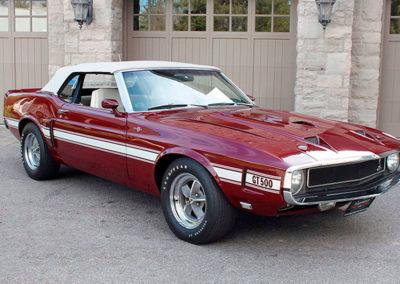 1969 Shelby GT 500 il s'agit de la dernière version inspirée des années 60.