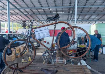 1895 Vélo La Souplette en bois cintré et raccord en acier