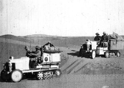 1922 Citroën Kegresse Le Scarabée des Sables présent à Époqu'Auto.