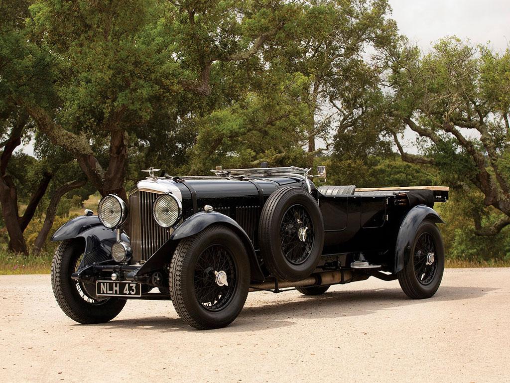 1931 Bentley 8-Litre Tourer - Sold for € 680 000.