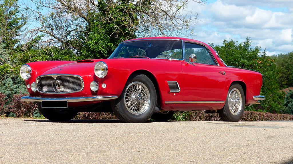 1958 Maserati 3500 GT Époqu'Auto 2019.