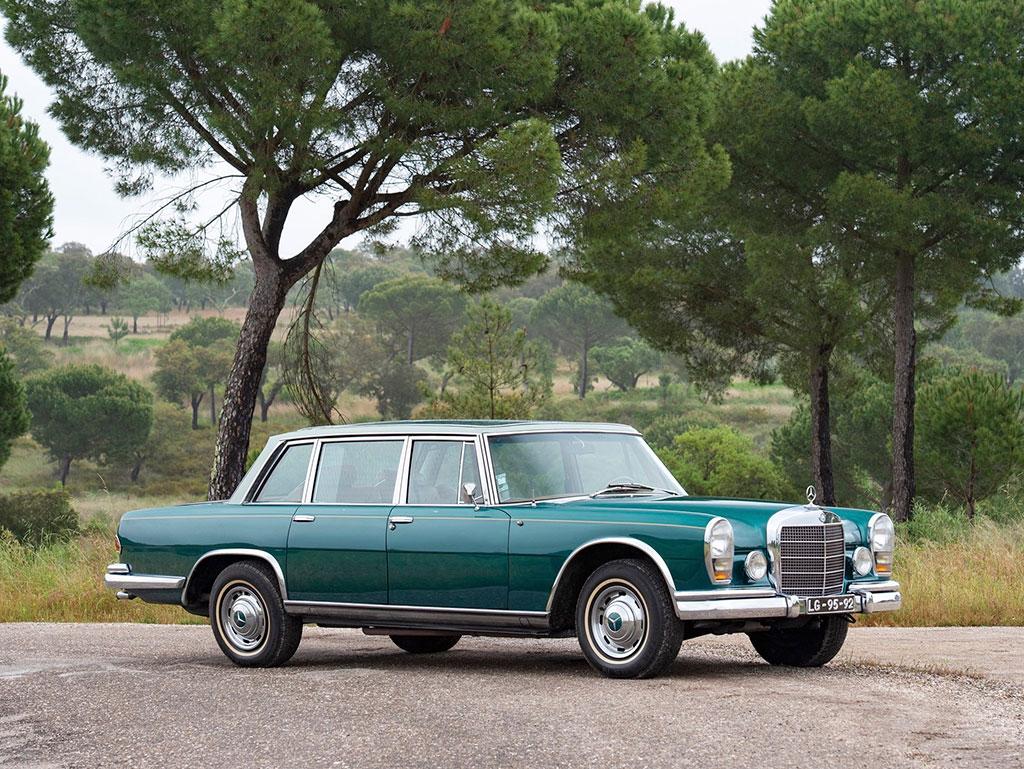 1966 Mercedes-Benz 600 Sedan par Chapron - Sold for € 342 500.